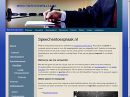 Speechentoespraak